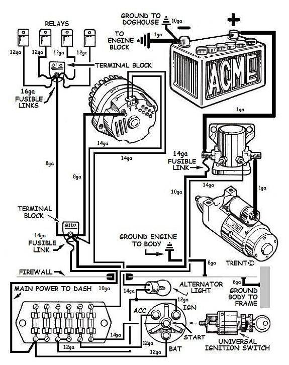 Wiring Diagram Ac Delco Alternator