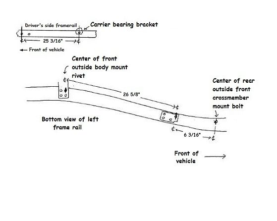 Rack and Pinion Conversion on a 1949 to 1954 Chevy Car