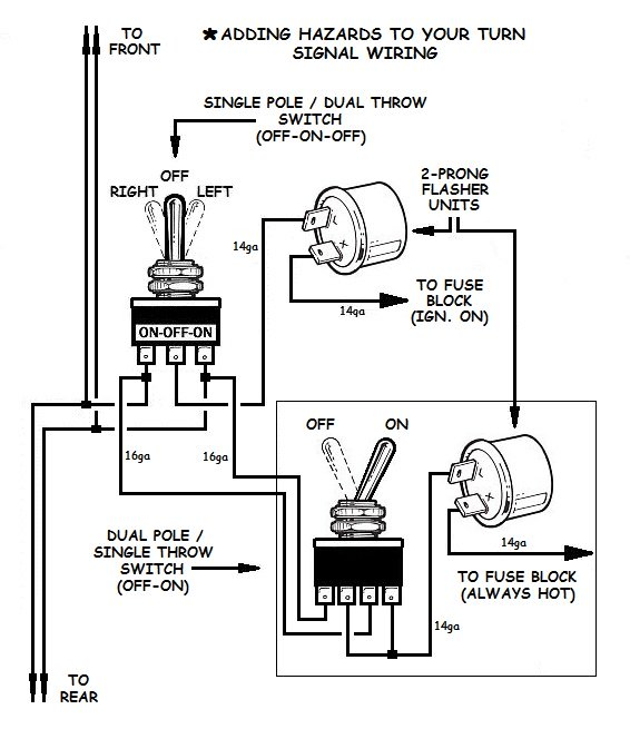 xturnsignal10.jpg.pagesd.ic.vq9Tfht111  Prong Turn Signal Flasher Wiring on 3 prong signal flasher diagram, turn signal flasher relay wiring, stop and turn signal wiring, 3 prong ignition switch wiring,